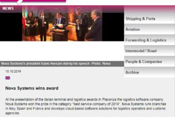 Nova Systems wins award